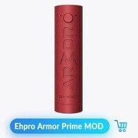 Volcanee Ehpro Armor Prime Mechanical Mod Brass 510 Thread 21700 18650 Battery Electronic Cigarette Box Mod Pen Vape Mech Mod