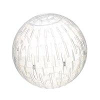19 см Хомяк Мышь Ежик бегущий мяч прозрачный домашнее животное Упражнение спортивный мяч-белый