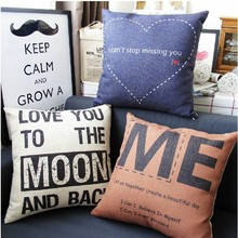 I Cant Stop Missing You Simple Creative Love Pillow Moon Love