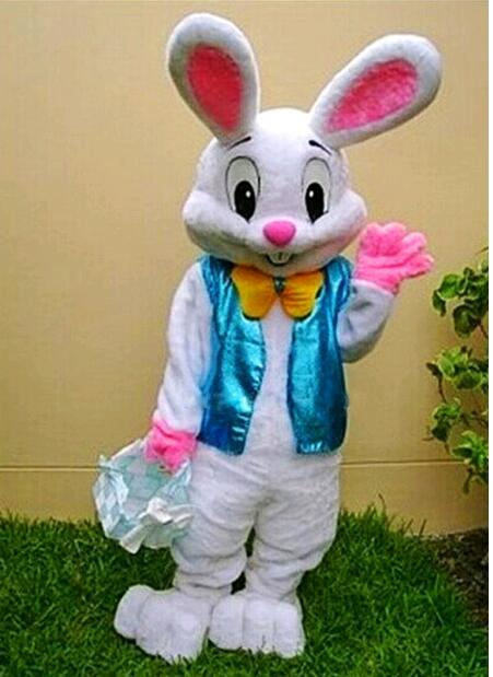 Easter bunny cartoon doll costumes for the animal doll costume cute rabbit people walk through the puppet costumes