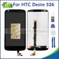 Новый Оригинальный Качество Для HTC DESIRE 526 526G ЖК-Дисплей + Сенсорный Экран с Digitizer Ассамблеи Запасные Части + Инструменты