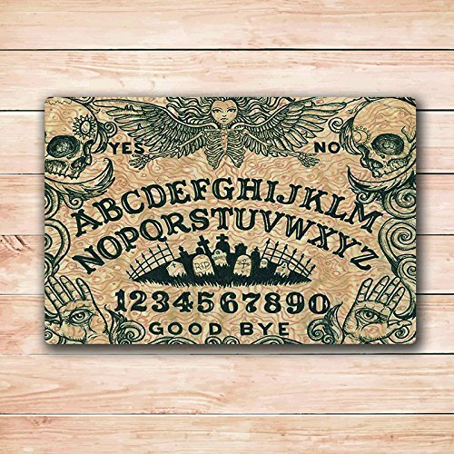 Ouija Board Art Door Mat Rugs 18X30 Inchs Inside Rectangle DoorMat Rugs 18X30 Inch