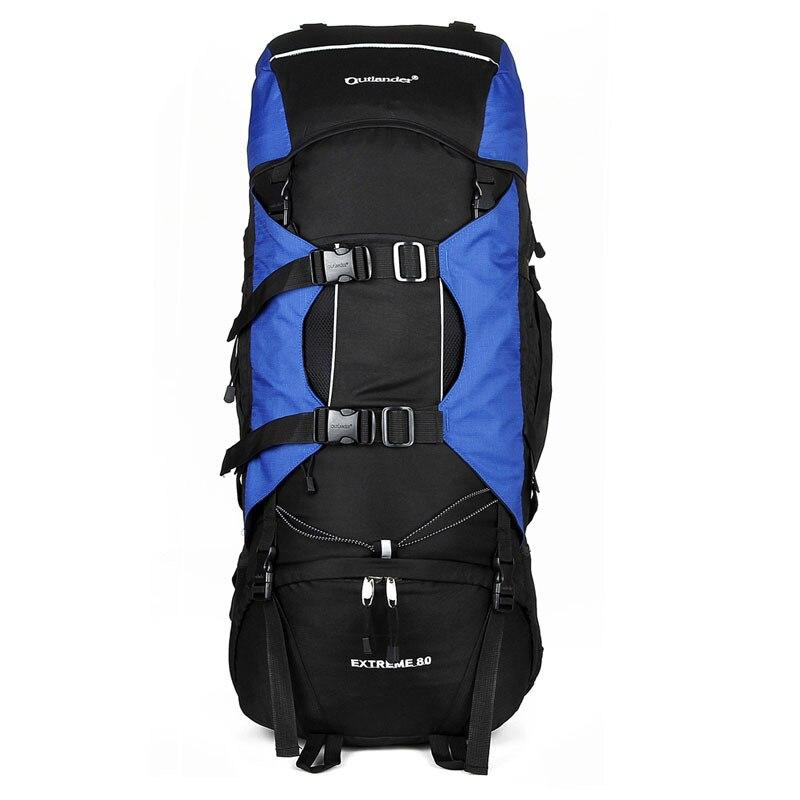 80L sac à dos extérieur Camping sac étanche alpinisme randonnée sacs à dos Molle Sport sacs escalade sac à dos Mochila Feminina