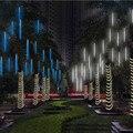 Новый год 30 см наружный Метеоритный Дождь 8 трубок светодиодные гирлянды водонепроницаемые для украшения рождественской свадебной вечерин...