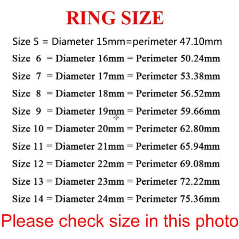 Auxauxme 8mm Black Titanium สแตนเลสผู้ชายแหวนงานแต่งงานแหวนของขวัญสำหรับชายเครื่องประดับขนาด 5-13 drop shipping