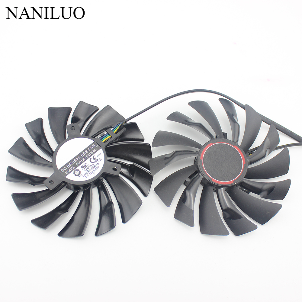 94mm PLD10010S12HH 12V 4Pin for MSI GTX950 GTX960 GTX970 GTX980 GTX980TI  fan R9 380 R9 390X Fan GAMING Graphics card fan
