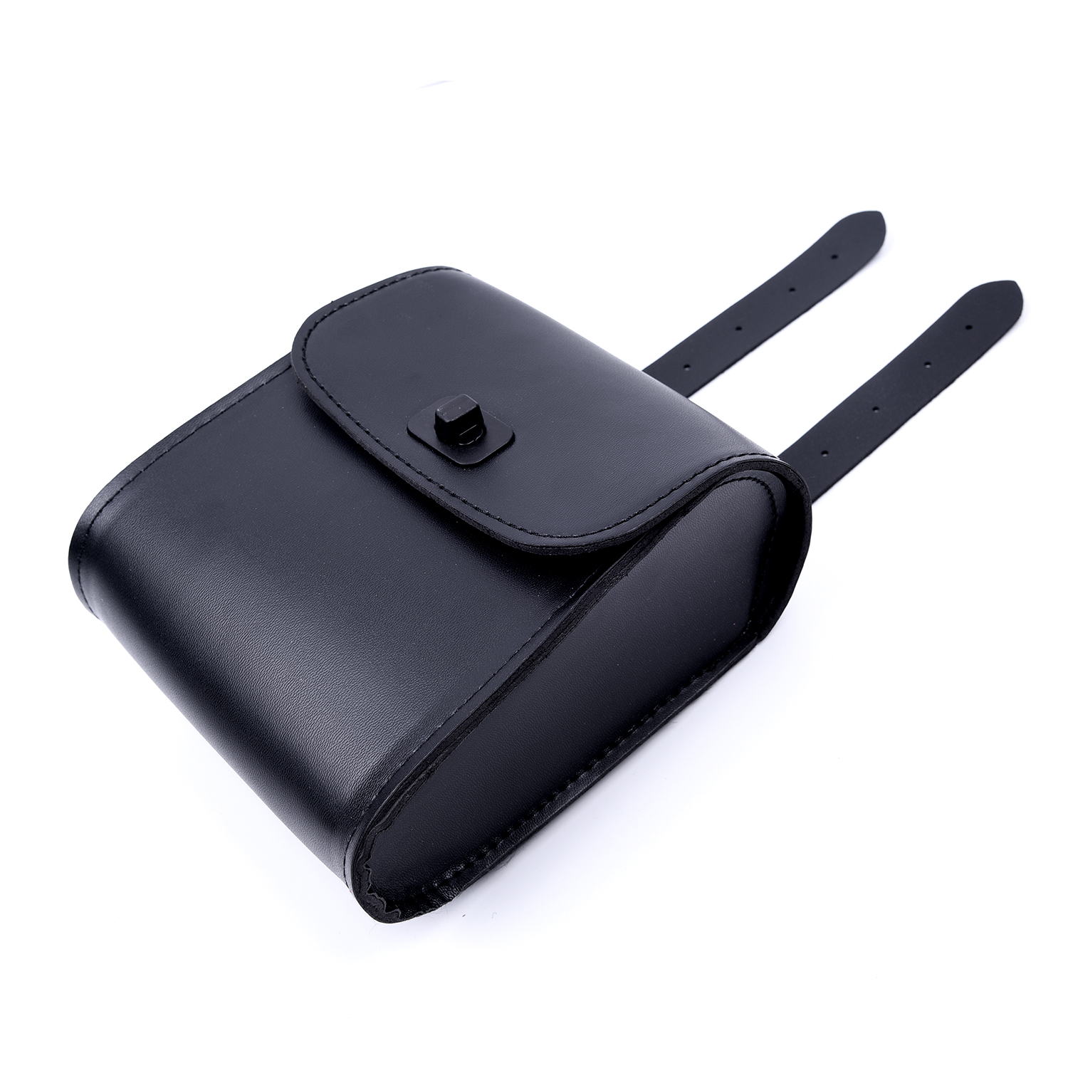 Motorcycle Accessories Saddle Luggage Universal Tool bag MOTORCYCLE BIKE Bag PU Leather black New Arrival