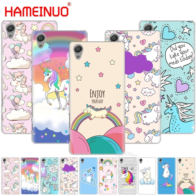 release date: ab8ac 8e910 US $1.93 34% OFF|HAMEINUO Unicorn On Rainbow Jetpack Cover phone Case for  sony xperia C6 XA1 XA ULTRA X XP L1 X compact XR/XZ/XZS PREMIUM-in ...