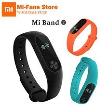 100% Сяо Mi mi Группа 2 Touchpad Экран браслет miband OLED Touchpad Пульс сна Мониторы сердечного ритма Ми Band2 Бесплатная доставка
