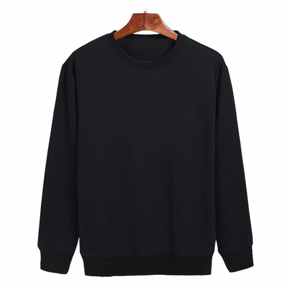 a6b41293c13 ... Модные дизайнерские хлопковые черные серые мужские толстовки с длинным  рукавом мужские хип-хоп толстовки