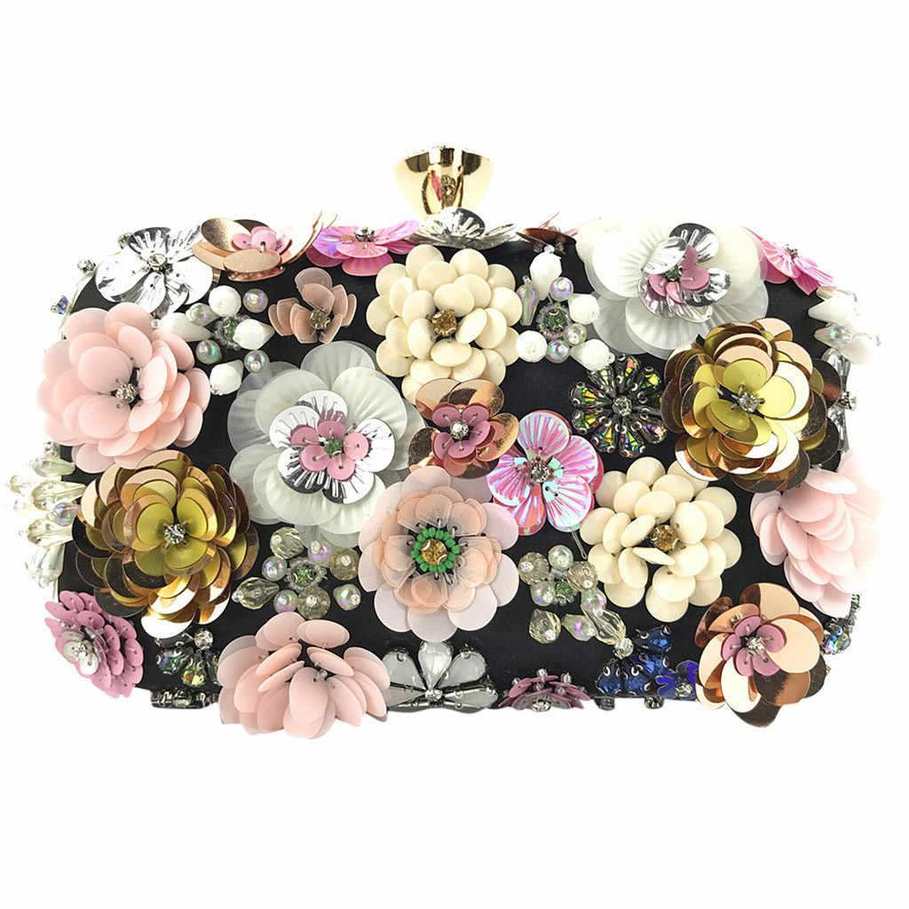 Ocardian Handtassen Luxe Mode Vrouwen Tassen Designer Bloem Decoratie Koppelingen Avond Chain Crossbody Tassen Party Mode M7