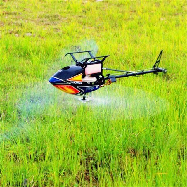 Aceite Combustible Nitro DFC 480N Águila mundial Aérea Rollo Truco 3d Invertido Vuelo RC Helicóptero Kit Marco