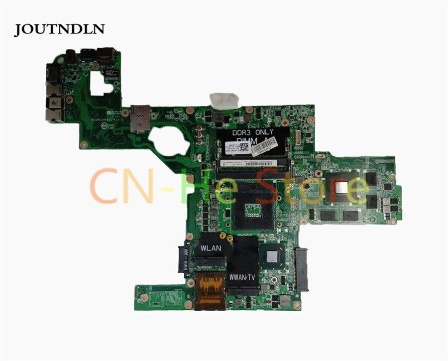JOUTNDLN для DELL L502X Материнская плата ноутбука CN-0714WC 714WC DAGM6CMB8D0 HM65 GT540M/2 ГБ Поддержка процессора i7