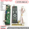 Z VST 3463 A1 Support Digital Signal DVB C DVB T T2 With 7 Key Button