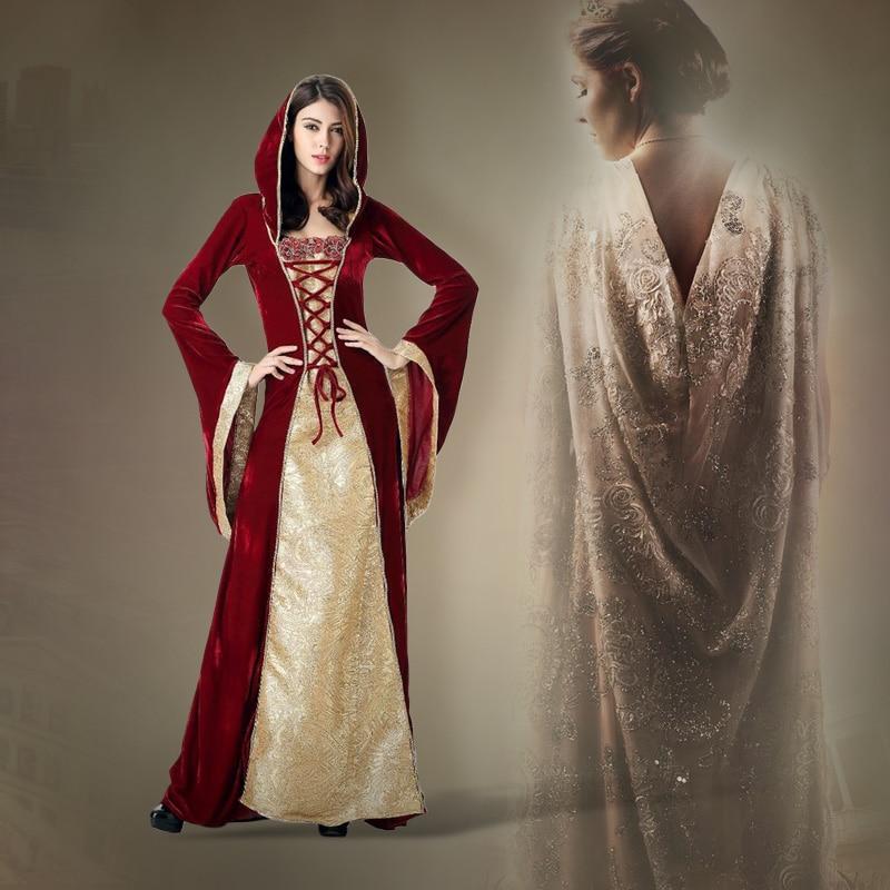 Purim Costume Esther Adult Women Queen Cosplay Magic Dress Up Dress Skirt Court Queen Costume