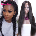 Mongolian Silk Top Full Lace Wigs with natural hairline Silky Straight Glueless Human Hair Wig Silk Base Lace Wigs FREE SHIPPING