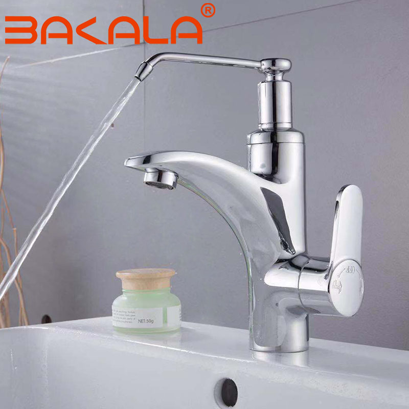 Bathroom Chrome Brass kitchen Faucet Basin Sink Mixer Tap Brass Made Cold And Hot Water Basin Faucet Healthy Clean water faucet copper basin faucet waterfall mixer water tap bathroom glass fan sink basin faucet chrome brass wash basin faucet hot and cold