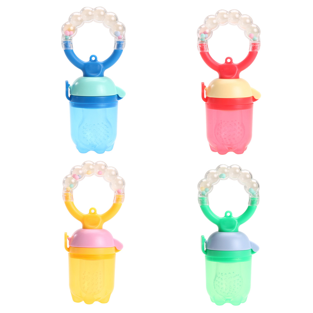 1pcs Baby Pacifier Fresh Food Milk Nibbler Feeder Kids