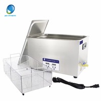 Skymen 30L 600W Digital Ultrasonic Cleaner Bath for Industrial Parts Auto Lab Chain PCB Heated Timer Ultrasound Sonic Machine