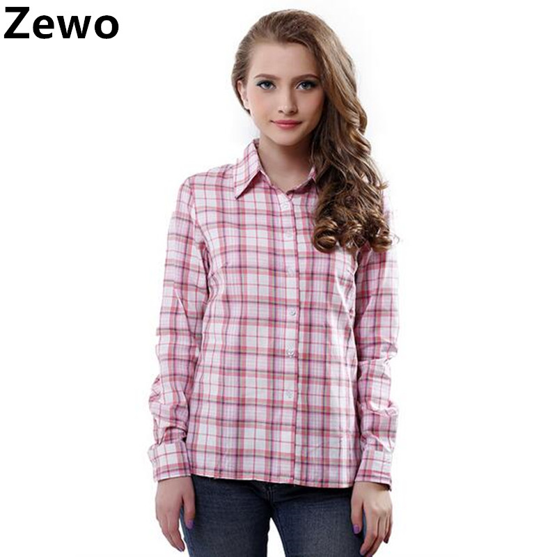 Zewo Fashion Women Blouses Long Sleeve Ts