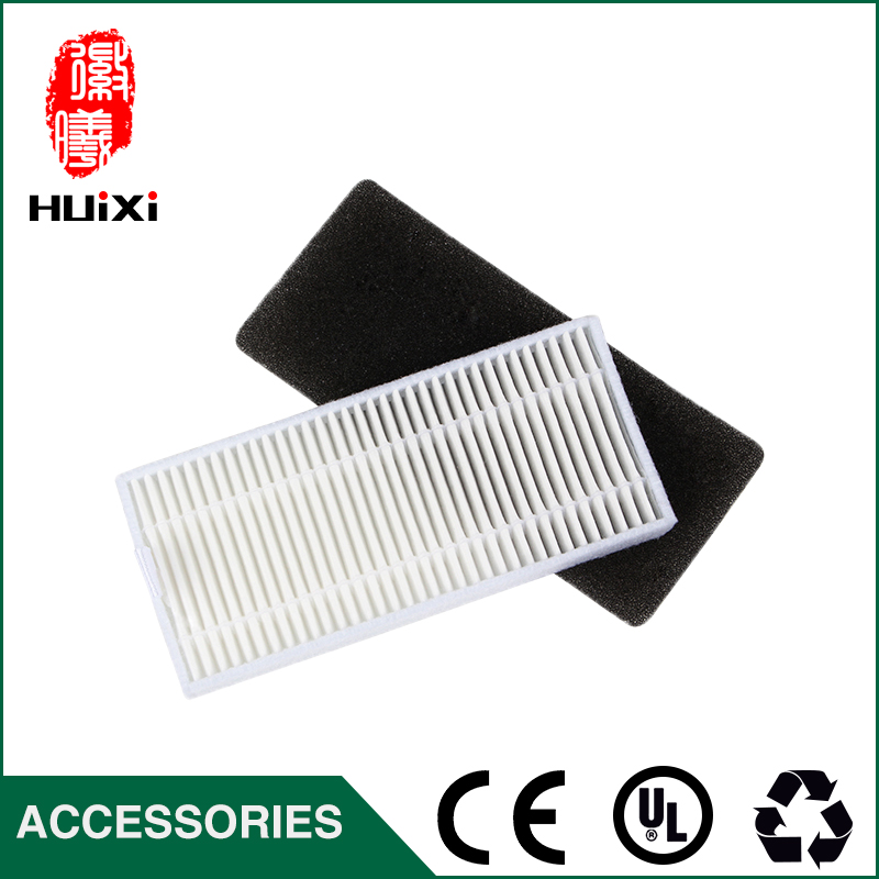 White HEPA Filter Replacement High-efficiency Robot Vacuum Cleaner Parts for DN621 DN621+ DN620 to Clean Home owl pattern protective tpu back case for samsung galaxy s5 green black