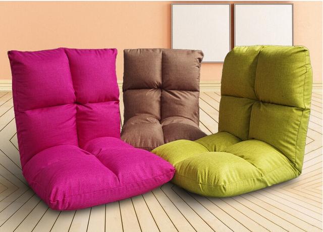 Lazer Assento Da Cadeira Chão Japonês Linda Reclinável Assento Tatami Zaisu Sem Pernas Cadeira Dobrável Móveis Para Casa Da Espuma Da Memória