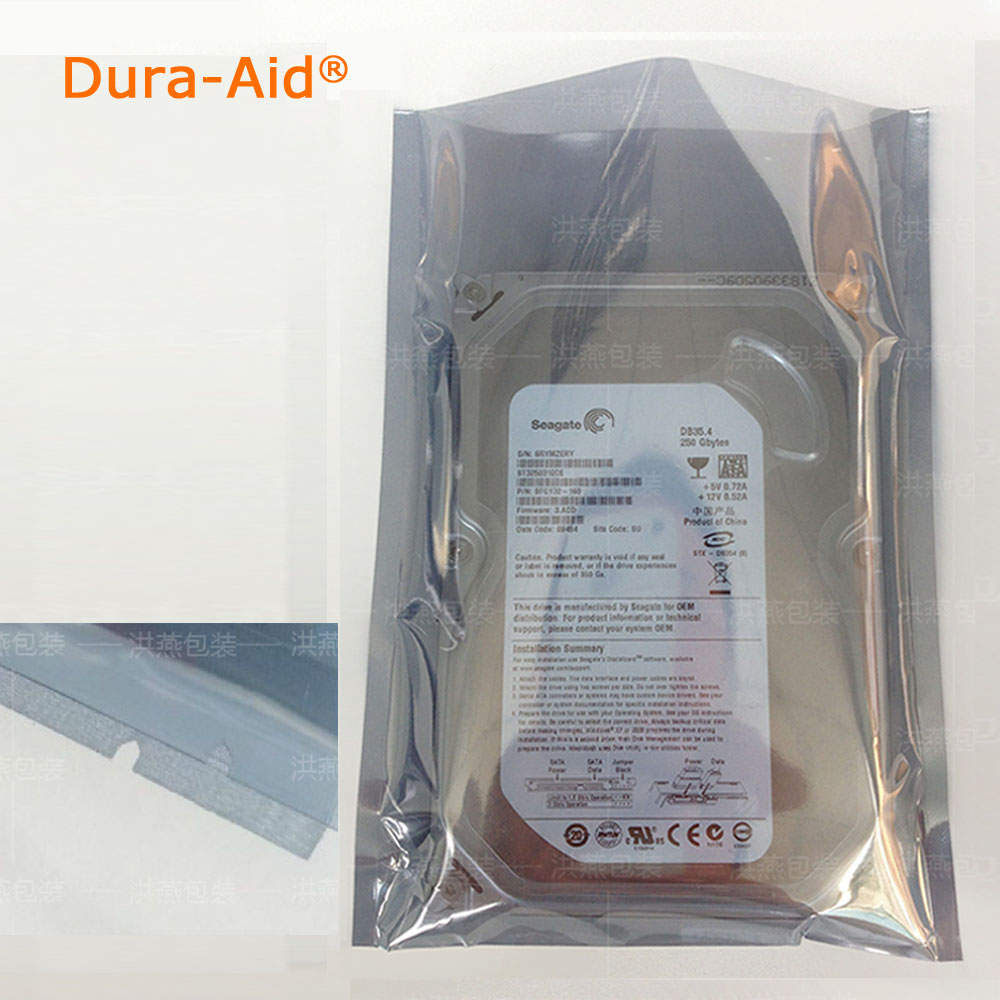 Dura Aid 300pcs lot Open Top Anti Static Shielding Bag ESD Anti static Instruments Package Pouch