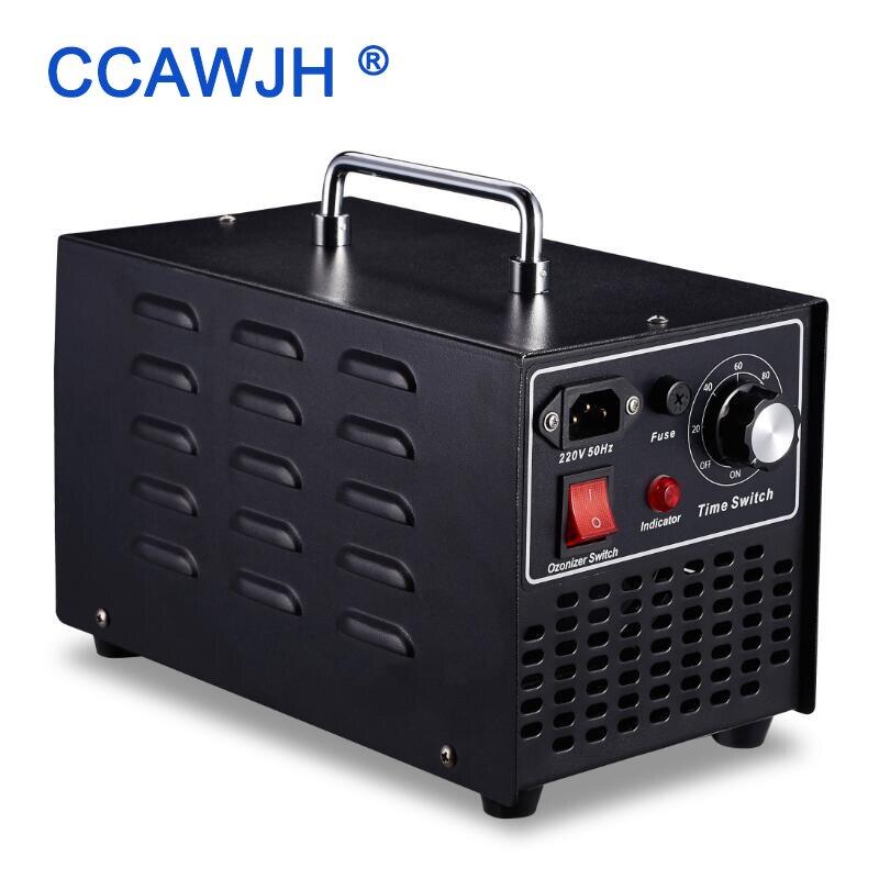 2019 Long Life 110V 220V 10GRH Ozone Generator Sterilizer With Timer Strong Fan Effective For Indoor