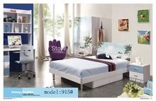 915 Спальня мебель для дома кровать шкаф стол тумбочка вращающееся кресло стоячая вешалка для шляп набор мебели