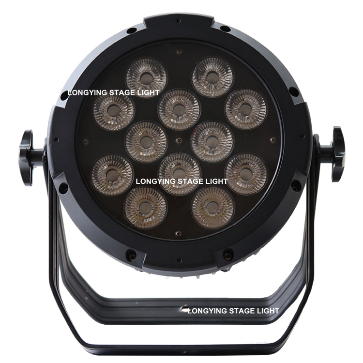 Free Shipping 8pcs/lot High Power IP65 Waterproof 12x18w 6in1 RGBWA UV LED Par Can Outdoor Par Light Stage Light