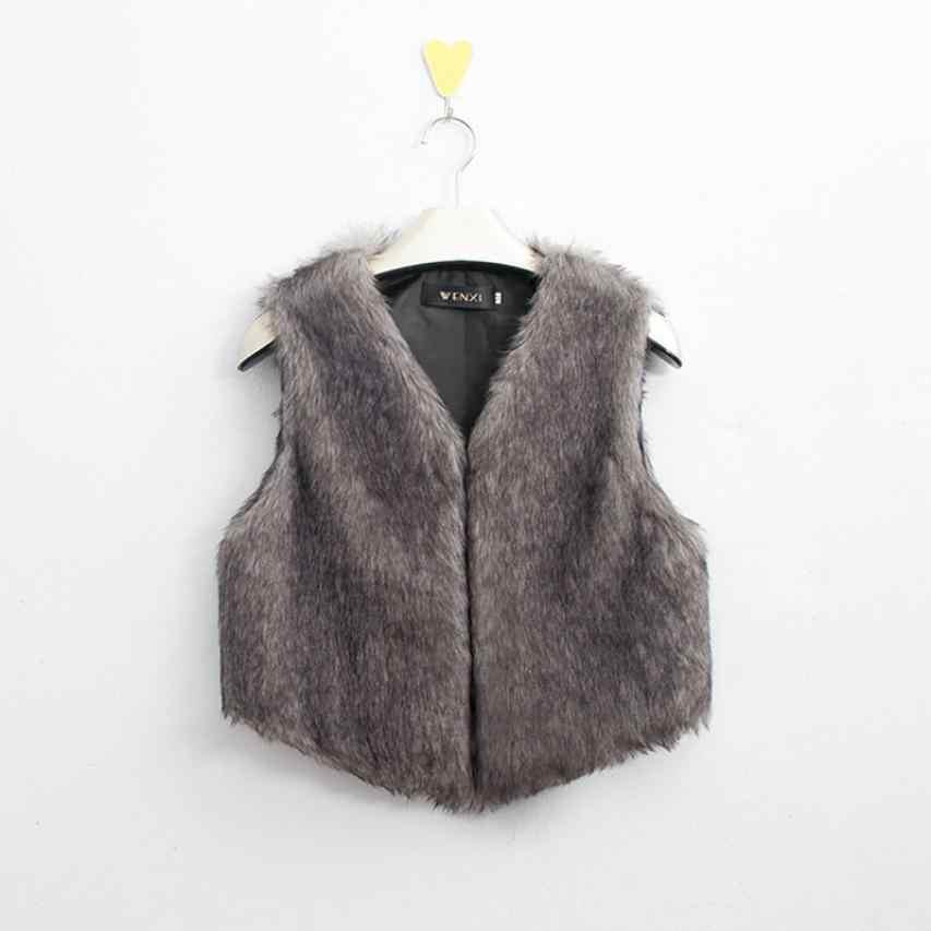 Elegante Bar marca mujer chaqueta sin mangas invierno ultraligero Delgado chaleco abrigo de pelo largo chaleco chalecos de mujer