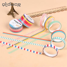 3PCS British Style Decor Washi Tape for DIY Album Scrapbook Japanese Stationery School Supplies(China)