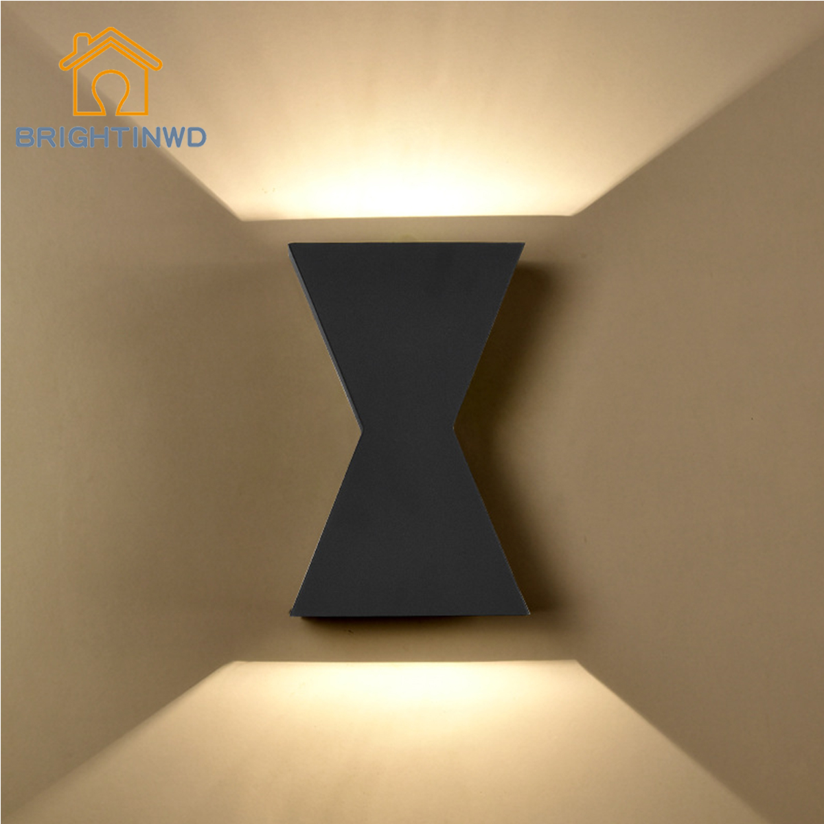 BRIGHTINWD LED Wall Lamp Living Room Bedroom Study Restaurant Background Personality Creative Corridor Aisle Staircase Lamps modern fashion creative k9 crystal wifi design led 9w wall lamp for living room bedroom aisle corridor bathroom 80 265v 2063