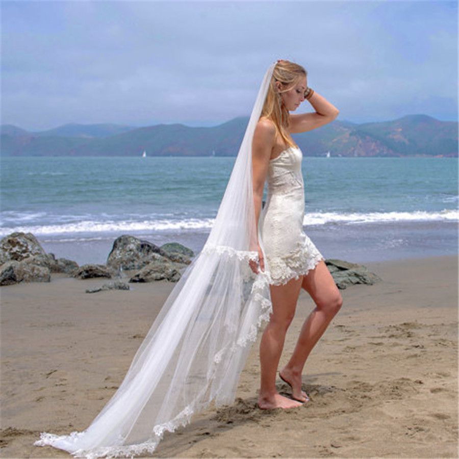 Beach Style Wedding Veils   Dress images