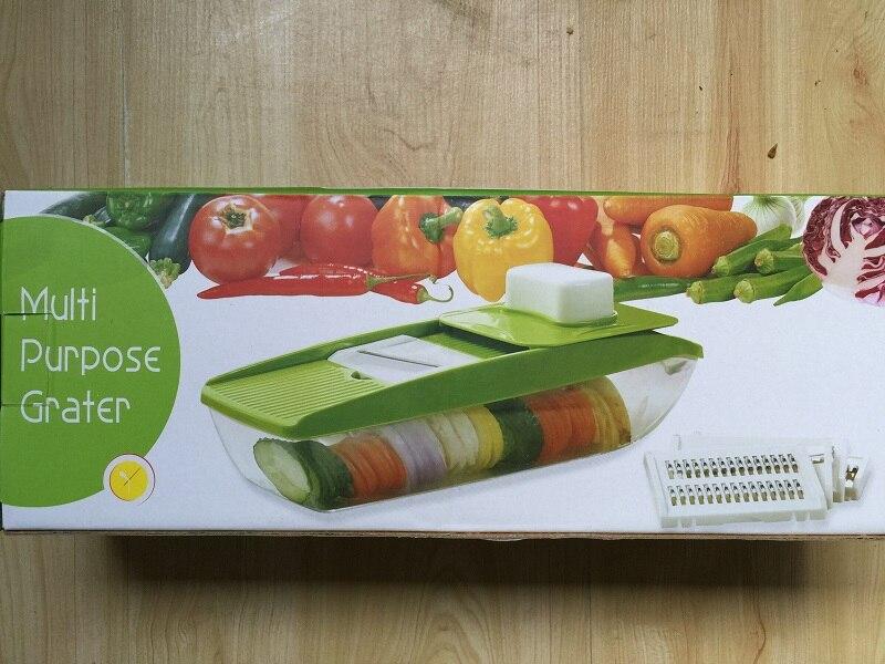 Multi  Purpose Vegetable Slicer 5 in 1 Vegetable Cutter Slicer Peeler Multi Chopper Grater Fruit Vegetable Tools Kitchen Gadgets
