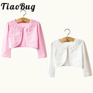 e5399a71b4 TiaoBug Lace Bolero Wedding Wrap Jacket Coat Shrug Cape