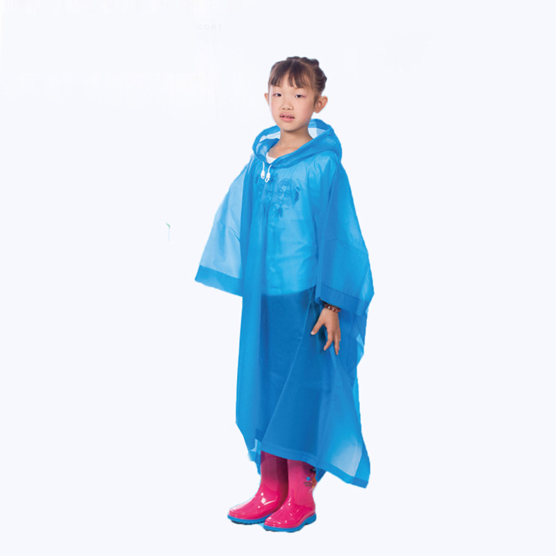 2016New Children's woman Raincoat Multifunctional Backpack Poncho Motorcycle Raincoat Rainwear Climbing Rain Coat Impermeable