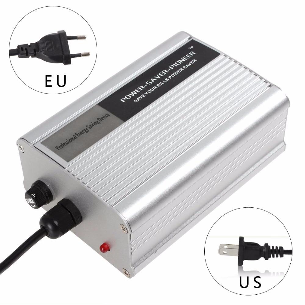 50KW 90-250V 50HZ/60HZ Home Room Power Energy Saver Saving Box Electricity Bill Killer Up to 35% US / EU Plug Optional power saving electricity energy saver box uk plug 90 250v