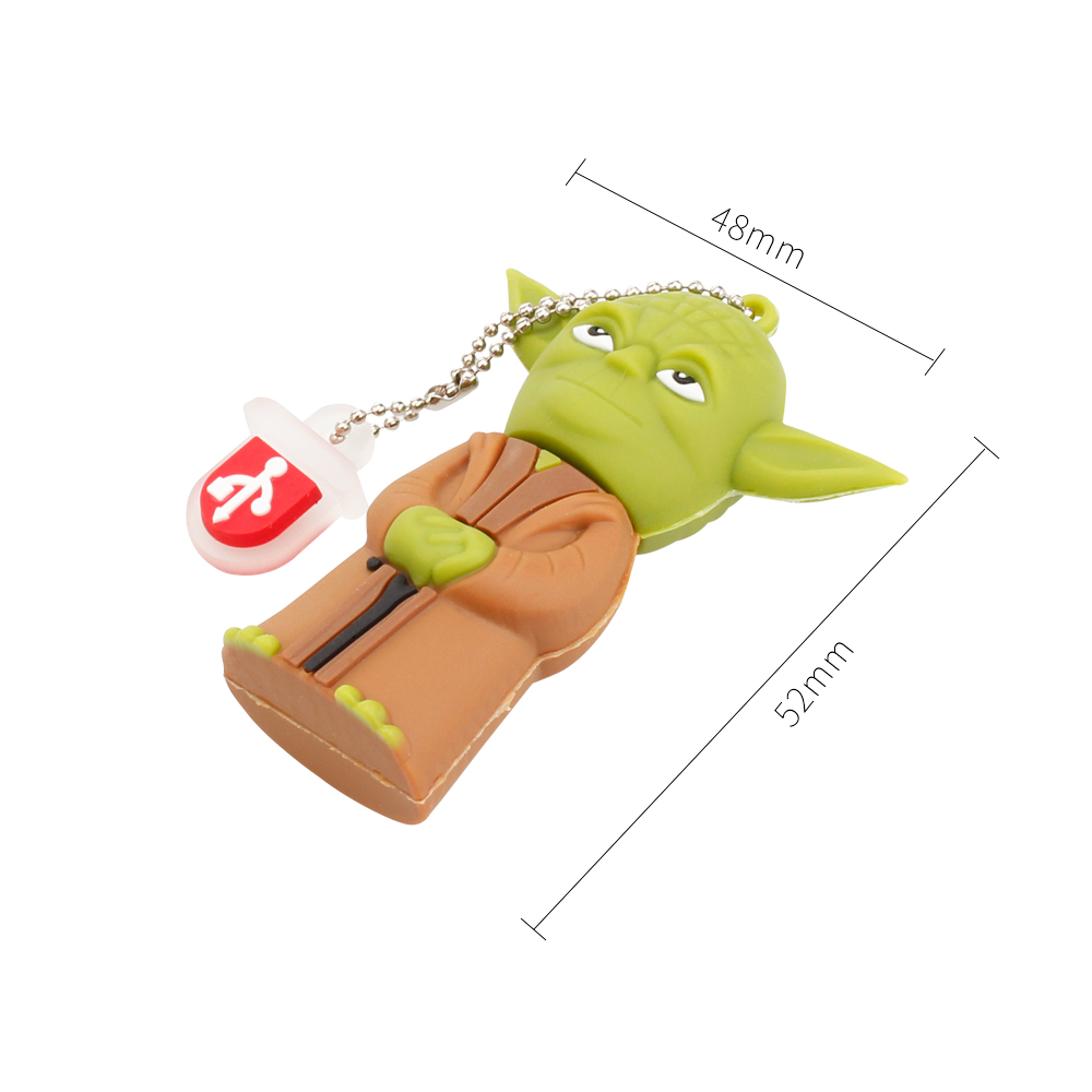Crazy Hot Star Wars Cartoon Flash Memory Stick 32GB 64GB 128GB 8GB 16GBUSB Flash Drive 2.0 High Quality Pen Drive Robot Pendrive (3)