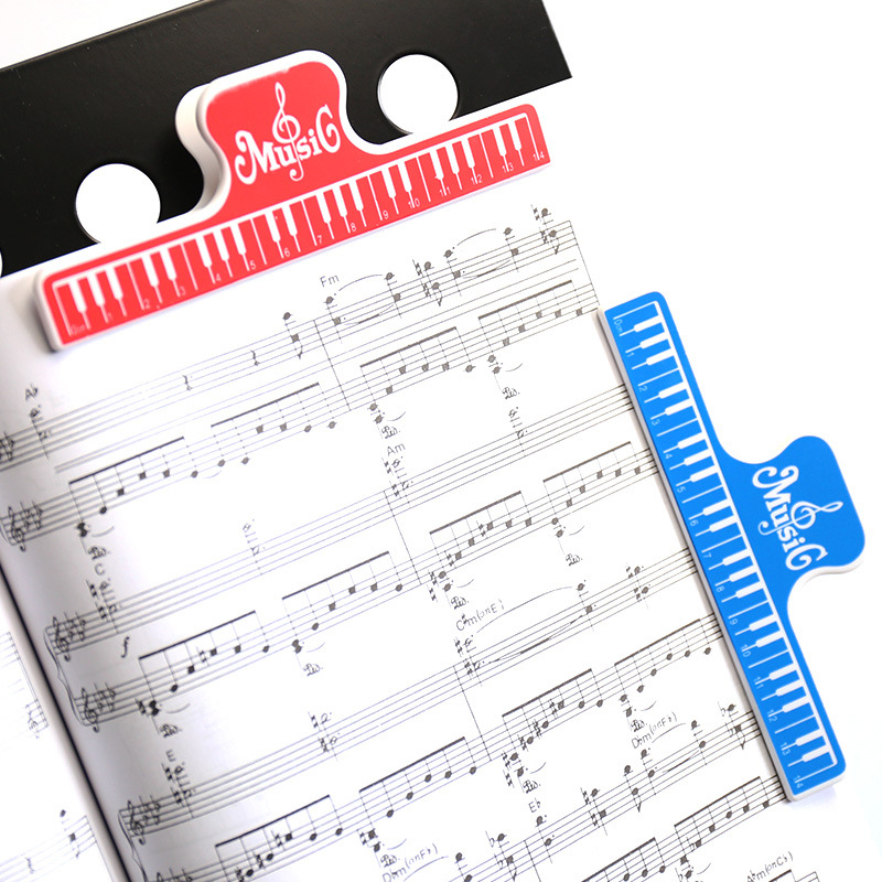 4pcs Colorful Plastic Music Score Fixed Clips Book Paper Holder For Guitar Violin Piano Player Multifunction Spring Clips 15cm Cheapest Price From Our Site Office Binding Supplies
