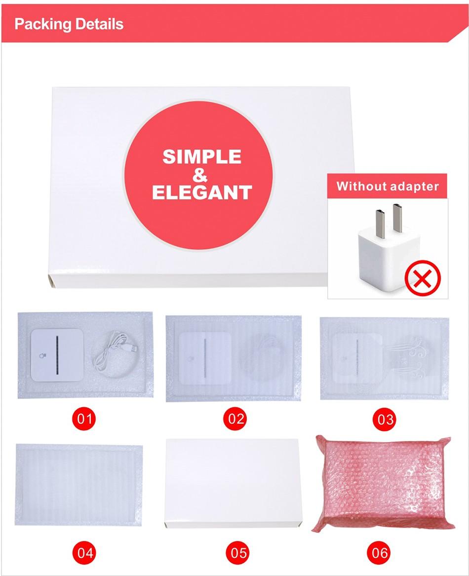 3d White Line Shadeless Terror Skull Dimmable 3d Led Light Bed Room Lamp  (9)