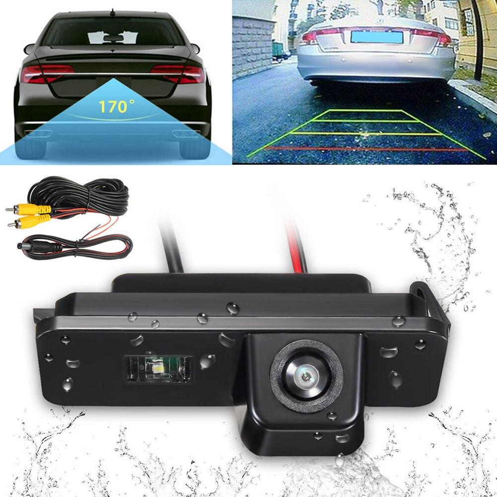 Rear View Outdoor Camera Waterproof Embedded Car Reversing Parking Assist Universal For Passat For Golf For Bora MK4 MK5 MK6