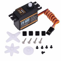 4x EMAX ES3001 37g Standard simulation Servo server For RC Helicopter Boat Airplane Fiexd wing