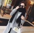 High Quality Woman Long Tassel Solid Scarves Fashion Lovers Oversize Warm Scarf Shawl Luxury Brand Warm Neckerchief Wrap