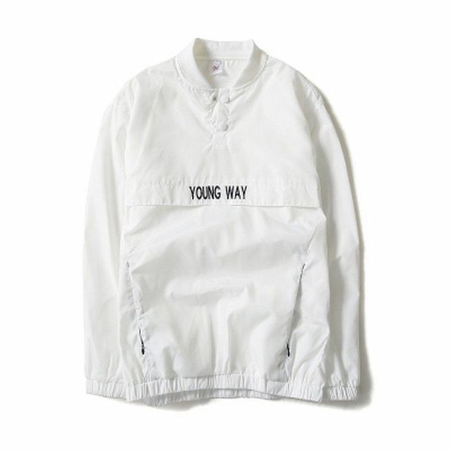 New Reflective Windbreaker Bomber Jacket Men Autumn Tide Brand Off White Jacket Chaqueta Hombre Njk29 by Ali Express
