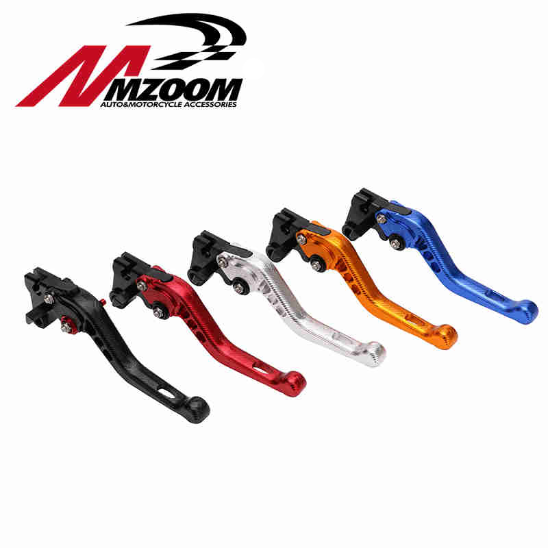 Motorcycle Adjustable CNC Short Brake Clutch Levers For Yamaha YZF R6 2005-2014 YZF R1 2004-2008 R6S 6 colors cnc adjustable motorcycle brake clutch levers for yamaha yzf r6 yzfr6 1999 2004 2005 2016 2017 logo yzf r6 lever