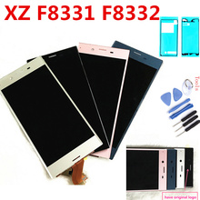 купить 5.2 original LCD For SONY Xperia XZ Display F8331 F8332 Touch Screen Digitizer Replacement Parts For SONY Xperia XZ LCD Display дешево
