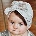 Новые Трикотажные Хлопок Knotted Caps Шляпы Для Малышей Детские Unisex Девушки Весна Осень Теплый Уха Шапочки Skullies