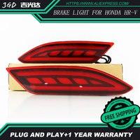 Free Shipping LED Rear Bumper Light Rear Fog Lamp Brake Light Turn Signal Light Reflector For