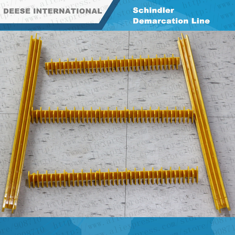 желтые пластиковые ссылка шиндлер эскалатор шаг